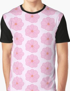 Pink Cosmos Graphic T-Shirt