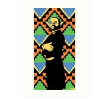 Geoffrey, Fresh Prince of Bel Air, Street Art, Stencil Art Art Print