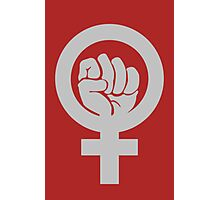 Strong Woman Photographic Print