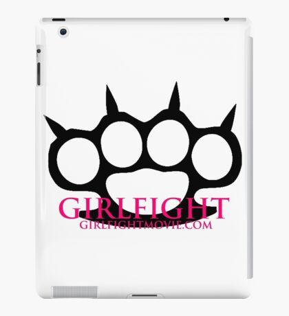 GIRLFIGHT - Main Brass Knuckles Logo iPad Case/Skin