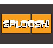 Sploosh! (ARCHER) Photographic Print