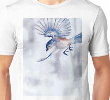 Winter Chickadee 1 Unisex T-Shirt