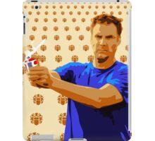 Old Willwaukee, Will Ferrell, Old Milwaukee, Street Art, Stencil iPad Case/Skin