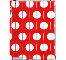 MCM Red Spurk iPad Case/Skin