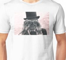 Top Hat Binoculars Man, Digital Drawing Unisex T-Shirt