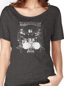 Vintage Da Vinci Drum Women's Relaxed Fit T-Shirt
