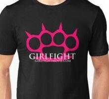GIRLFIGHT - Pink Brass Knuckles Unisex T-Shirt