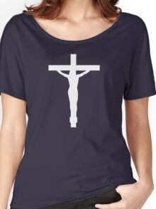 Christ On The Cross Women's Relaxed Fit T-Shirt