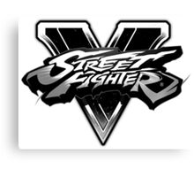 street fighter v Canvas Print