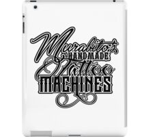 "Murabito""s Handmade Tattoo Machines in black iPad Case/Skin"