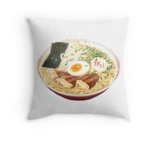 Anime Ramen Throw Pillow