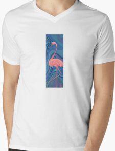 The OG Flamingo Mens V-Neck T-Shirt