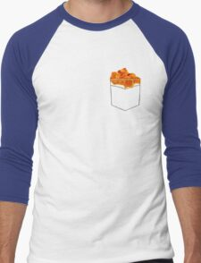 What's in the Pocketolli Men's Baseball ¾ T-Shirt