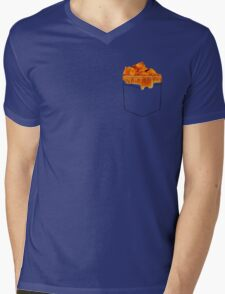 What's in the Pocketolli Mens V-Neck T-Shirt