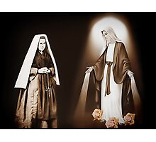 † ❤ † ❤ THE VISION OF SAINT BERNADETTE SOUBIROUS   † ❤ † ❤ Photographic Print