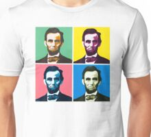 Abe, Abraham Lincoln, Painting, Warhol Unisex T-Shirt