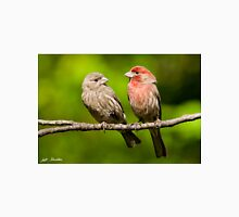 Pair of House Finches in a Tree Unisex T-Shirt