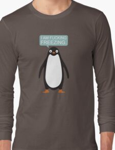 Talking Penguin Long Sleeve T-Shirt