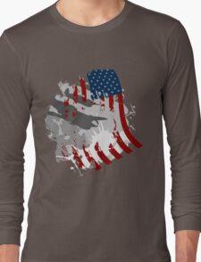 Flag Wave Long Sleeve T-Shirt