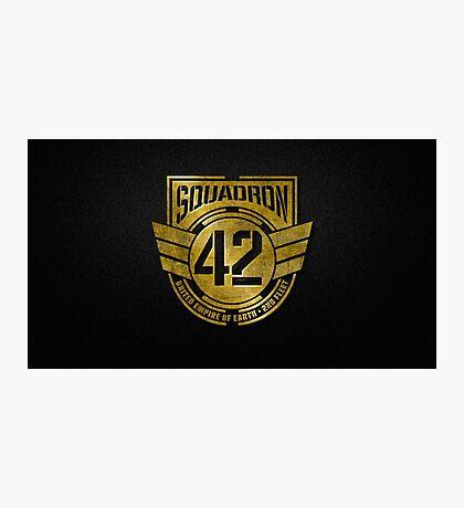 squadron 42 Photographic Print