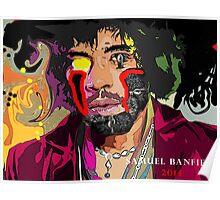 Jimi Hendrix Cyborg Poster