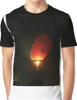 air balloons at night Graphic T-Shirt