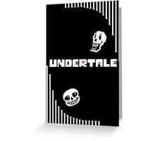 Undertale - Bone Wave Greeting Card