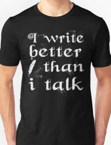 Writer Blogger Unisex T-Shirt