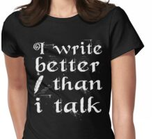 Writer Blogger Womens Fitted T-Shirt