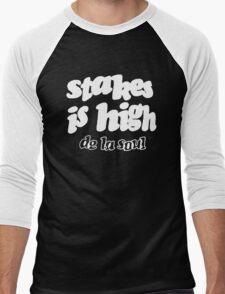 De La Soul Stakes Is High Men's Baseball ¾ T-Shirt