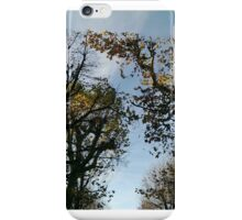 Vienna trees autumn iPhone Case/Skin
