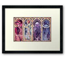 Steven Universe Mucha Framed Print