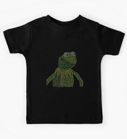 It's not easy, bein' Kermit Kids Tee