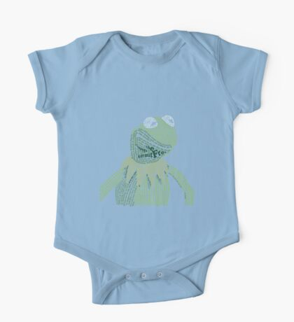 It's not easy, bein' Kermit One Piece - Short Sleeve