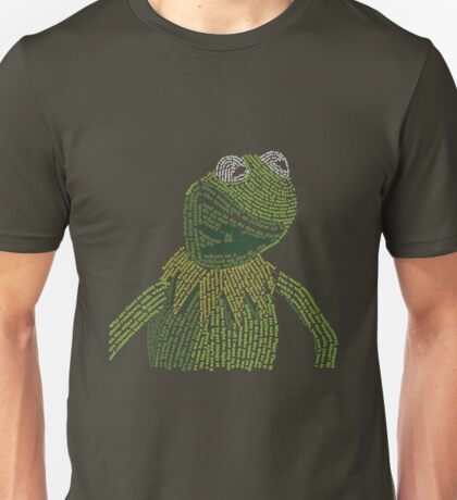 It's not easy, bein' Kermit Unisex T-Shirt