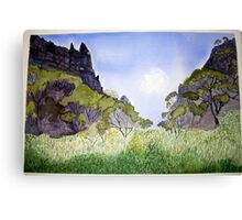 Hell's  Window in Summer Canvas Print