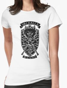 Valhalla Bound - Inverted Womens Fitted T-Shirt