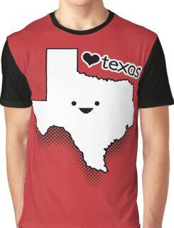 Cute Texas Graphic T-Shirt