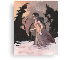 Werewolf Maiden Canvas Print