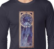 Lapis Lazuli Mucha Long Sleeve T-Shirt