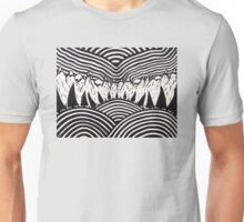 Mt. Evergreen, Drawing on Wood Unisex T-Shirt