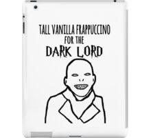 Voldemort Starbucks iPad Case/Skin
