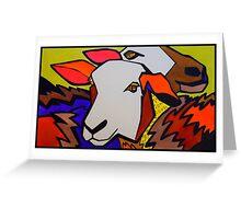 dancing sheep 2 sheep Greeting Card