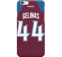 Colorado Avalanche Eric Gelinas Jersey Back Phone Case iPhone Case/Skin