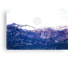 cold sun Canvas Print