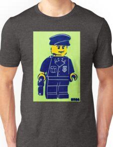 Lego Cop, Street Art, Spray Paint Stencil Unisex T-Shirt