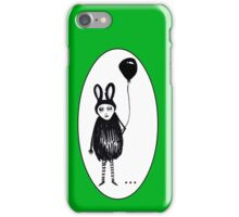 Weirdness is relative. Frame. iPhone Case/Skin