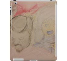 Fresh juice and blueberry lips iPad Case/Skin