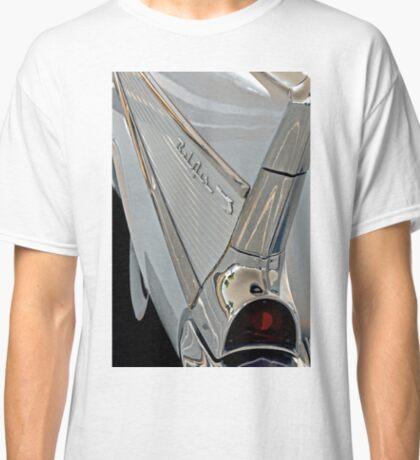 """1957 Chevy Bel Air Fin"" Classic T-Shirt"