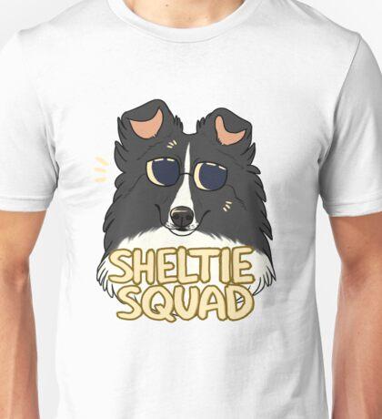 SHELTIE SQUAD (black) Unisex T-Shirt